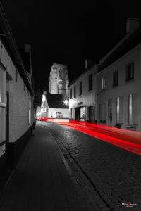 Lissewege by night